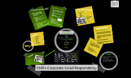 Copy of 1940's Corporate Social Responsibility