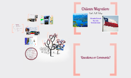 Chilean Migration