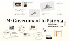 Mobile Government in Estonia