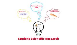 Student scientific research