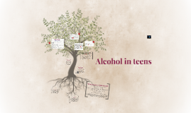 Alcohol in teens