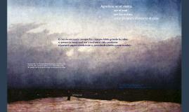 Ante el mar sus ropas se mecen al viento