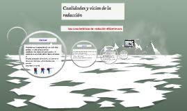 Copy of Cualidades y vicios de la redacción