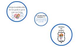ESCUELA DE PADRES. DEBERES DE LOS PADRES