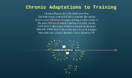 Chronic Training Adaptations