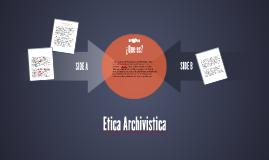Etica Archivistica