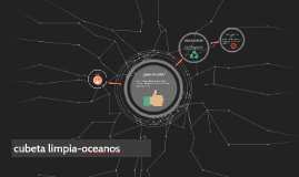 cubeta limpia-oceanos