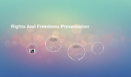 Rights And Freedoms Presentation