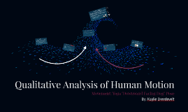 Qualitative Analysis of Human Motion