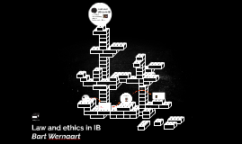 Law and ethics in IB