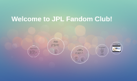 Welcome to JPL Fandom Club!