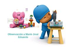 Me llamo: Mario José Eduardo