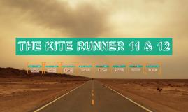 THE KITE RUNNER 11 & 12