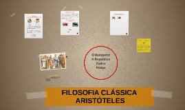 ARISTÓTELES - FILOSOFIA CLÁSSICA