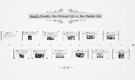 Marji's Duality: Private vs. Public