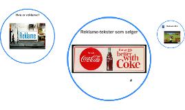 Copy of Reklame-tekster som selger