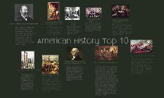 American History Top 10