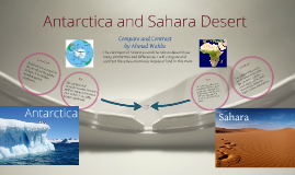 Copy of Antarctica and Sahara