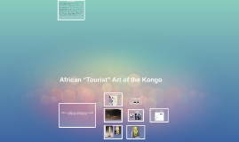 """African """"Tourist"""" Art"""