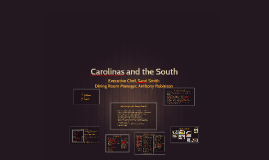 Carolinas and the South