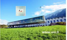 Universität Liechtenstein - Gut zu wissen
