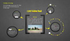 1300 Falahee Road Warehouse Space