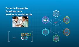 Copy of Curso de Formação Contínua para Auxiliares de Geriatria