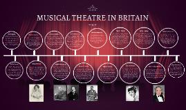 MUSICAL THEATRE IN BRITAIN