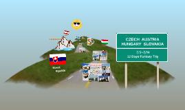 Copy of Czech, Austria, Hungary & Slovakia