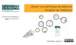 Copy of Atelier Débat journée des médiateurs