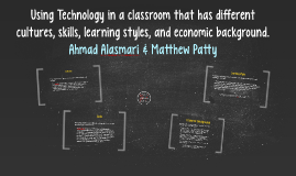 Technology Issues in the Classroom: