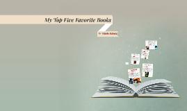 My Top Five Favrouite books