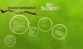Comité Ambiental Río Secreto 06 de junio