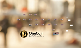 [ITALIAN] ONECOIN PITCH