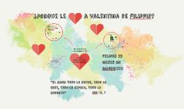 Porque le amo a valentina de filippis?