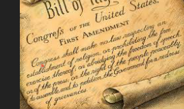 What is the First Amendment?