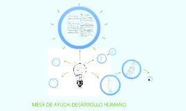 MESA DE AYUDA DESARROLLO HUMANO