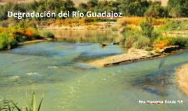 Degradación del Río Guadajoz