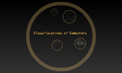 Classifacations of Computers