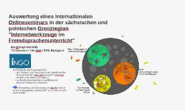 INGO-Projekt - Onlineseminar