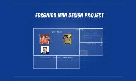 EDSGN100 Cart design