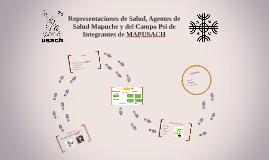 Representaciones de Salud, Agentes de Salud Mapuche y del Ca