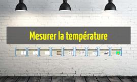 Mesurer la température par Claudia