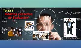 Tema 3 Evaluación Educativa