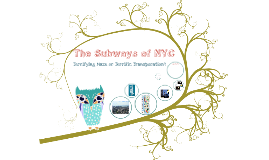 The Subways of NYC