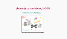 Message Development #yla2013