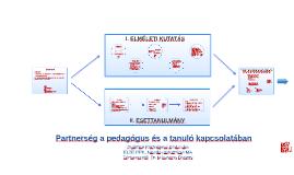 SZAKDOLGOZAT - Partnerség a pedagógus és a tanuló kapcsolatában