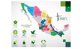 Ámbito socio- pastoral de la Compañía de Jesús en México.