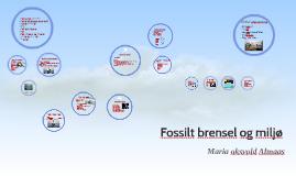 Fossilt brensel og miljø