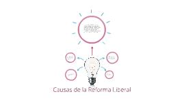 Causas de la Reforma Liberal
